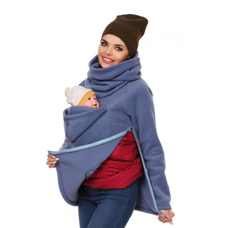 Porte bébé avec capuche
