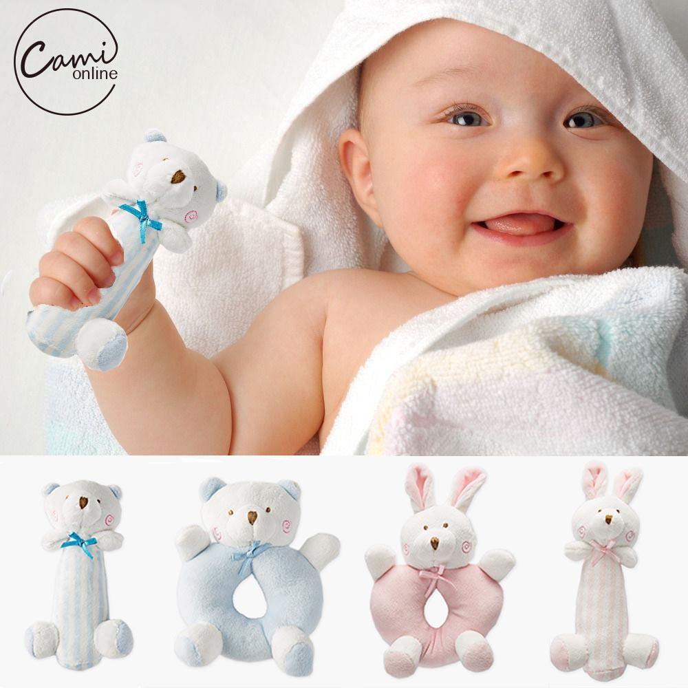 Hochet Ours-Lapin pour bébé