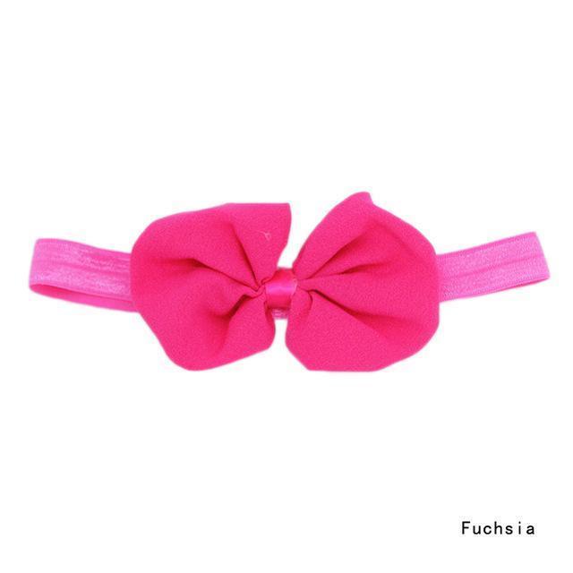 Bandeau à cheveux avec nœud pour filles
