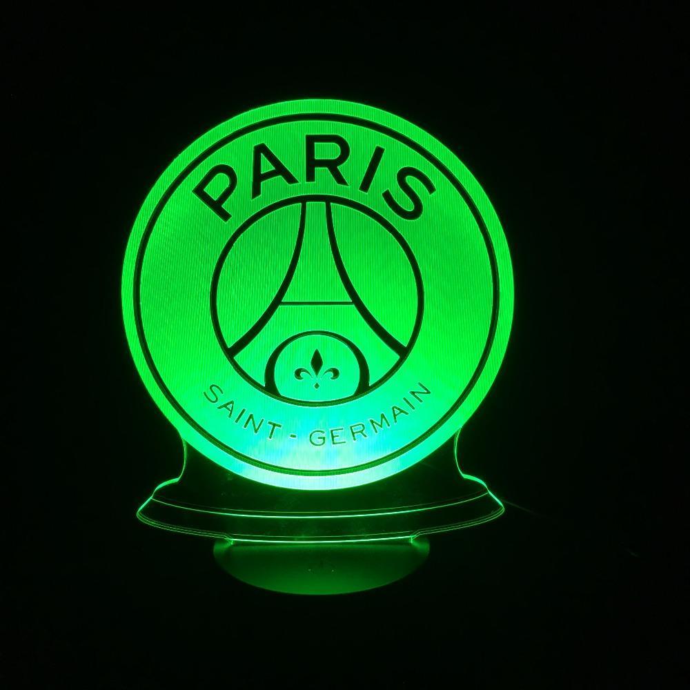Veilleuse 3D Led Du Paris Saint-Germain
