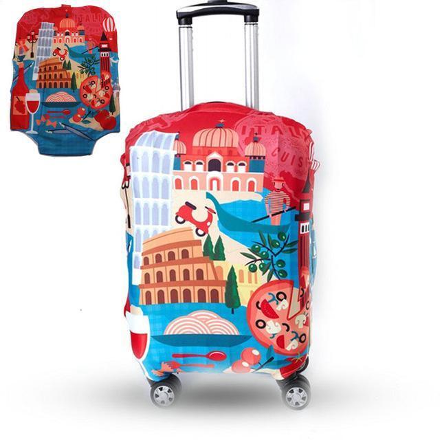 Housse pour valises à roulettes