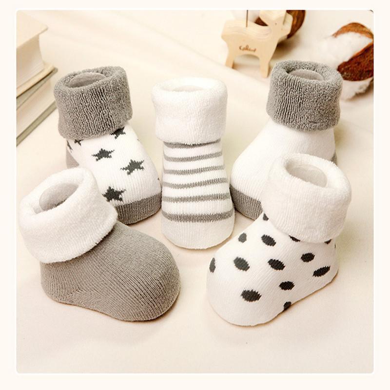 Chaussettes d'hiver pour bébé