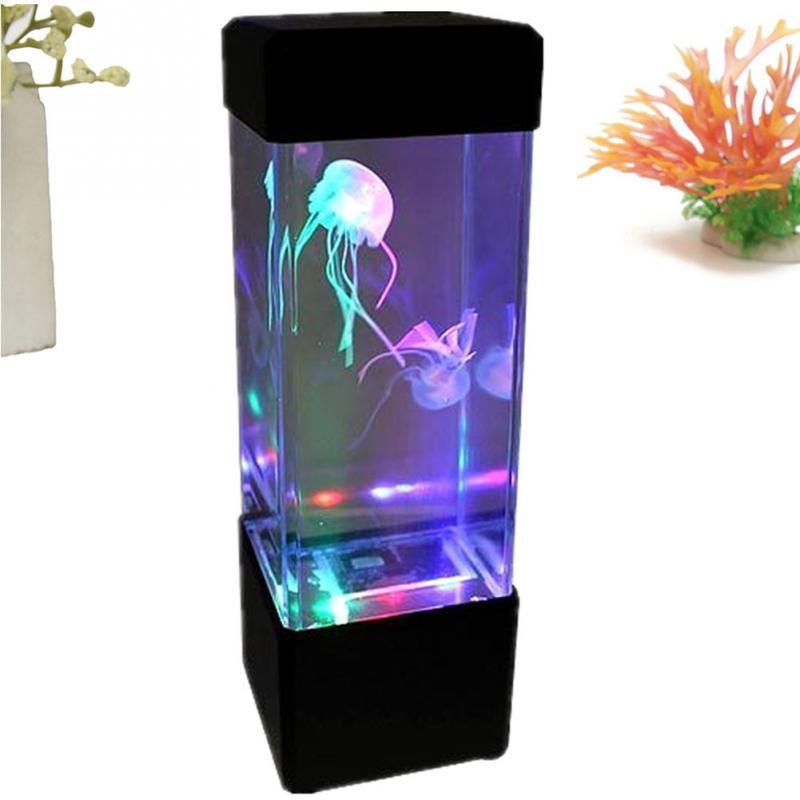 Aquarium USB avec éclairage LED