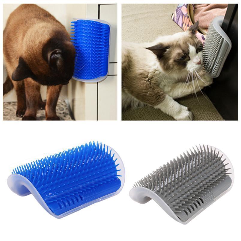 Brosse auto-massante pour chats