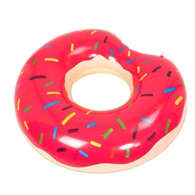 Bouée gonflable en forme de Donut