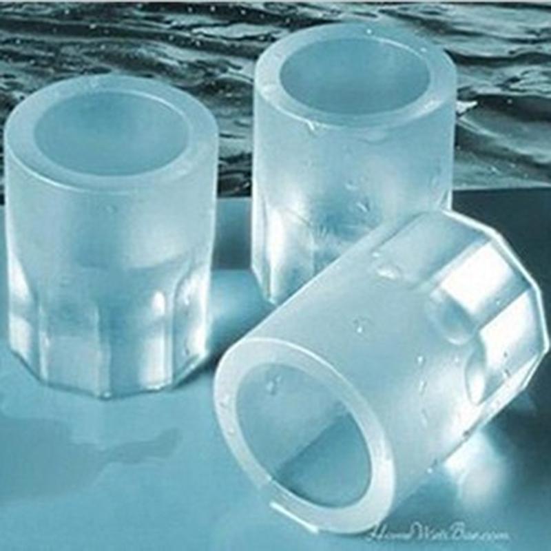 Moule glaçons en forme de verre