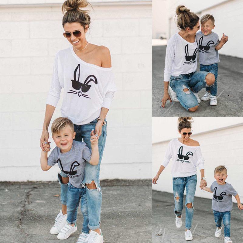 T-Shirt assorti mère & fils