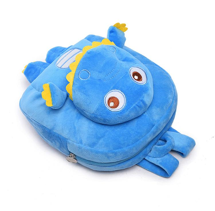 Cartable Dinosaure Peluche