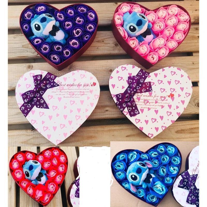 Cute Coffret Roses Stitch - Cadeau Femme