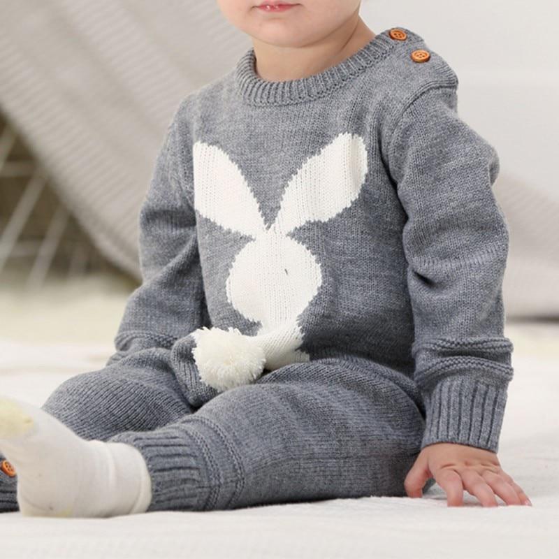Barboteuse Lapin En tricot