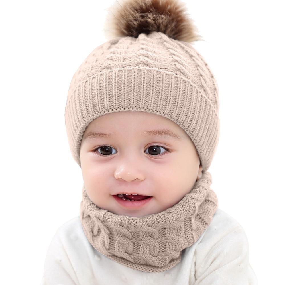 Bonnet & Écharpe Pour Bébé