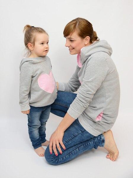 Sweat A Capuche Mère / Enfant