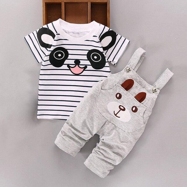 Ensemble Salopette Panda