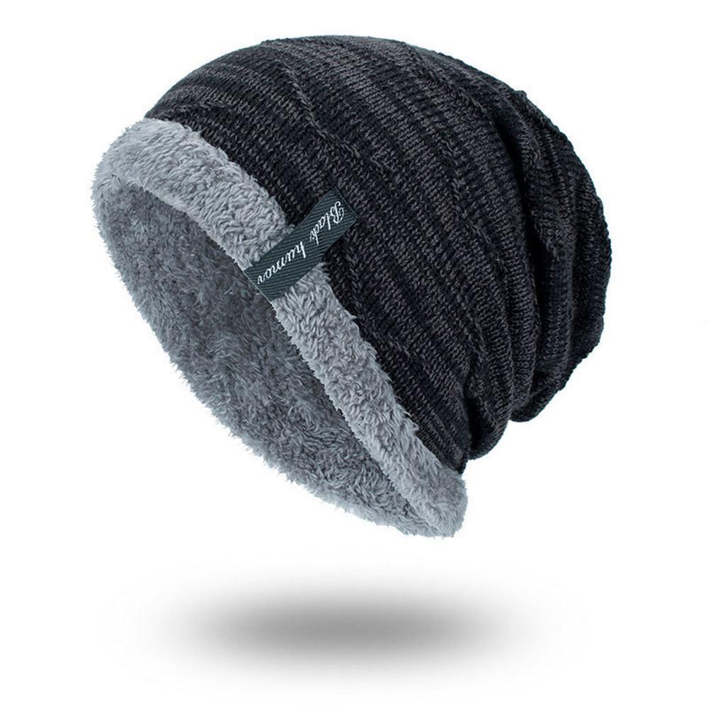 Bonnet-Écharpe Pour Homme