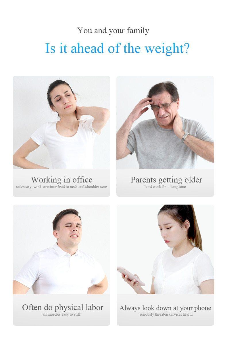 Coussin De Massage A Infrarouge